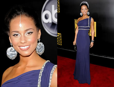 alicia keys Alicia Keys na American Music Awards: Ako z Bollywoodu