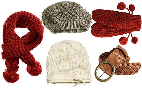 hm zimne doplnky H&M, Camaieu a Peacocks: Zimné doplnky za dobré ceny
