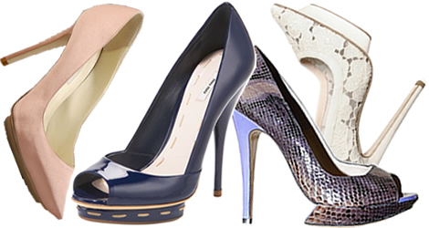 ... Leto 2009: Najlepšie inšpirácie na lodičky a trendy v topánkach
