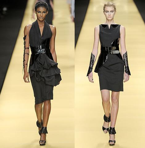 """Jar/Leto 2009: Šesť variácií pre klasické """"malé čierne šaty ..."""