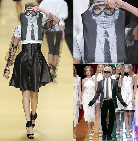 taska lagerfeld Taška Karla Lagerfelda... s Lagerfeldom!
