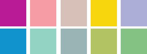 jar leto 2009 farby 01 Top farby pre sezónu jar/leto 2009