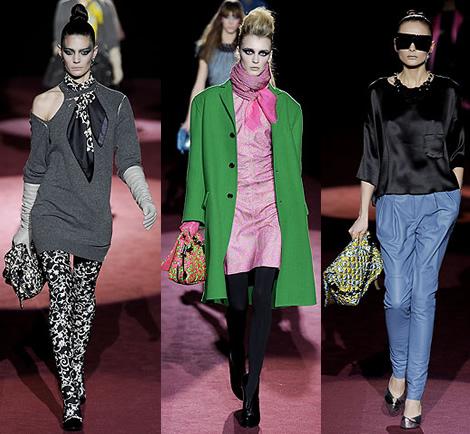 new york fashion week marc jacobs 04 New York Fashion Week: Jeseň v (ne)typických farbách
