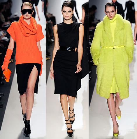 new york fashion week michael kors 01 New York Fashion Week: Jeseň v (ne)typických farbách