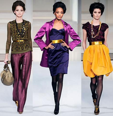 new york fashion week oscar de la renta 03 New York Fashion Week: Jeseň v (ne)typických farbách