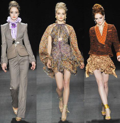 new york fashion week zac posen 02 New York Fashion Week: Jeseň v (ne)typických farbách