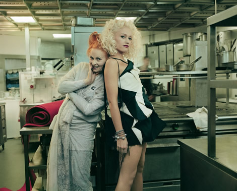 vivienne westwood gwen stefani Vivienne Westwood na Slovensku a štipka módy od VŠVU: výstava Fashination