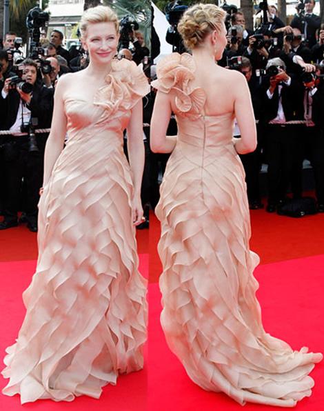 cannes cate blanchett armani prive Tie najlepšie šaty z festivalu Cannes 2009
