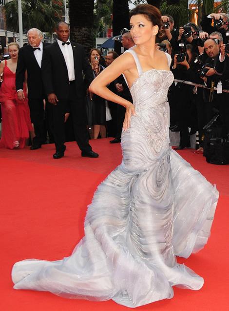 cannes eva longoria atelier versace 01 Tie najlepšie šaty z festivalu Cannes 2009
