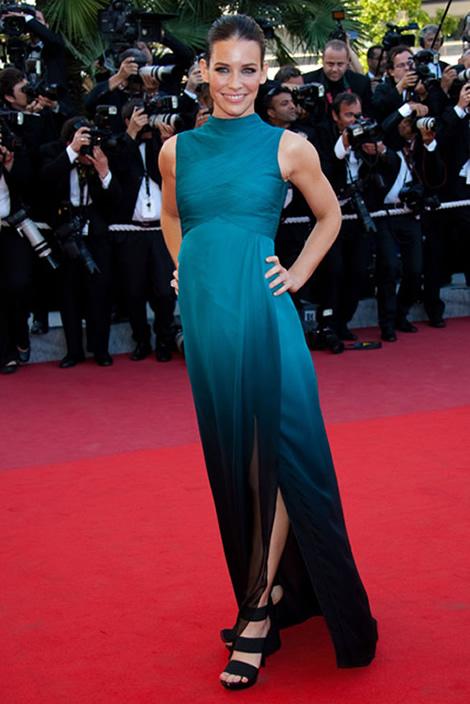cannes evangeline lily Tie najlepšie šaty z festivalu Cannes 2009