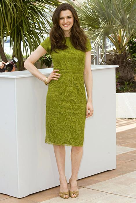 cannes rachel weis 02 Tie najlepšie šaty z festivalu Cannes 2009