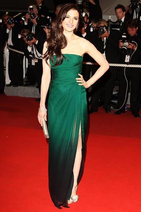 cannes rachel weisz Tie najlepšie šaty z festivalu Cannes 2009