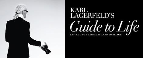 karl lagerfeld fake blog Čítanie ku káve: S iróniu na módne ikony