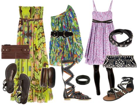 letne saty 00 Tip na leto: Ako nosiť kvetinové šaty