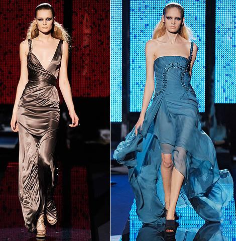 RTW fall winter 2009 versace Ako si vybrať šaty na stužkovú