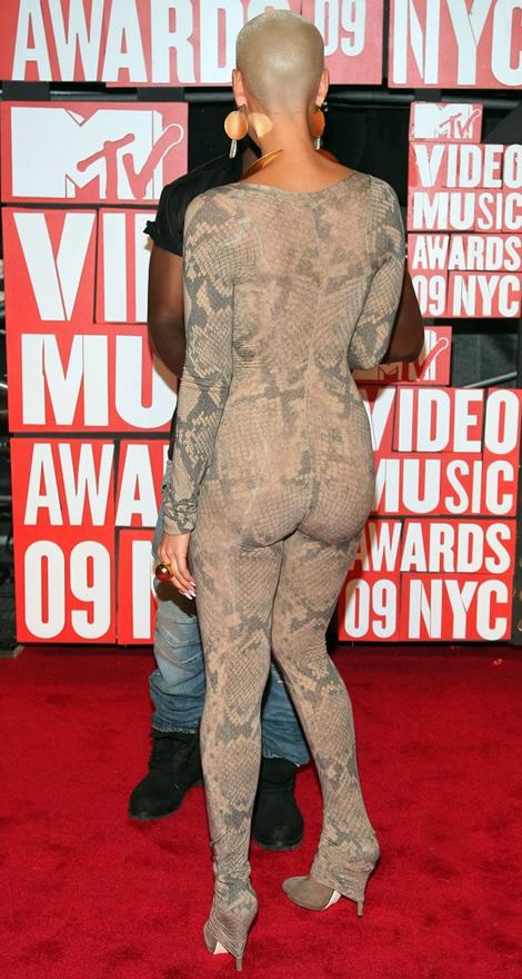 mtv vmas 2009 amber rose 02 MTV Video Music Awards 2009, 2. časť