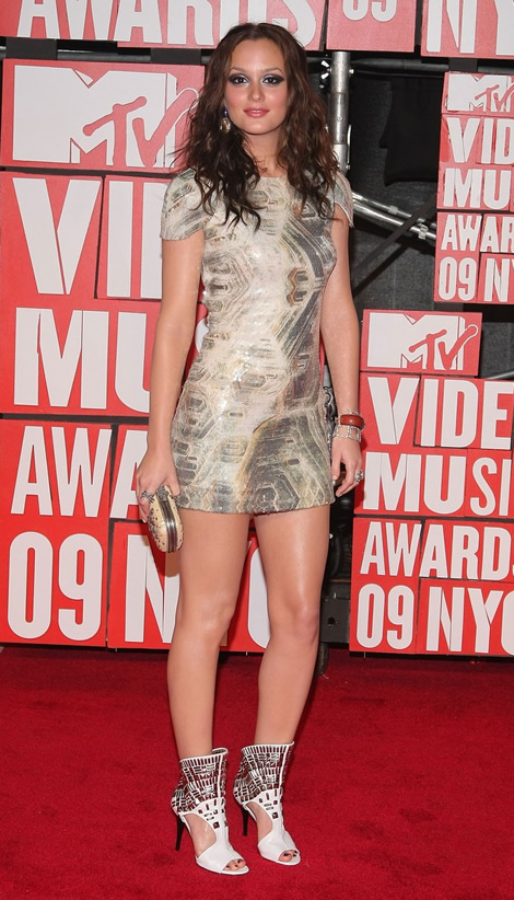 mtv vmas 2009 leighton meester 01 MTV Video Music Awards 2009, 2. časť