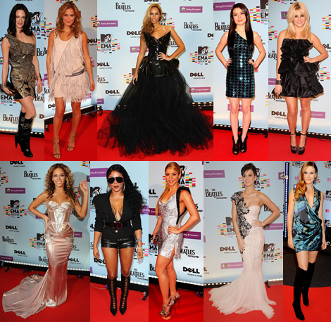mtv emas 2009 MTV Europe Music Awards 2009: V kurze je Marchesa, krivky a flitre