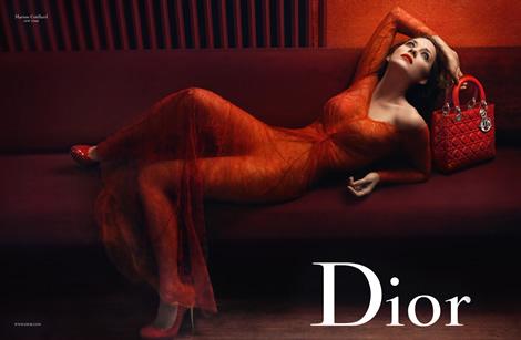 lady rouge 03 Christian Dior: The Lady Noir Affair