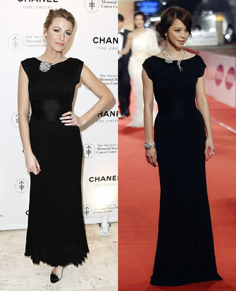 chanel blake lively vivian hsu Blake Lively vs. Vivian Hsu: Ktor si obliekla Chanel lepie?
