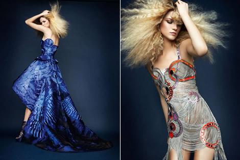Atelier Versace Spring 2010 Lookbook 00 Pre potešenie očí: Atelier Versace, jar 2010