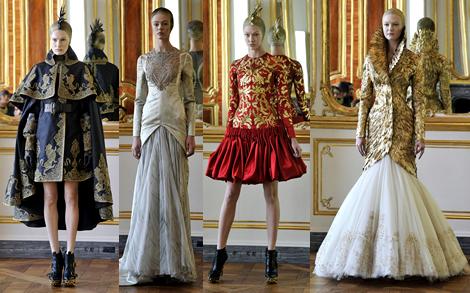 rtw jesen zima 2010 00 Posledná kolekcia Alexandra McQueena: Anjeli a démoni