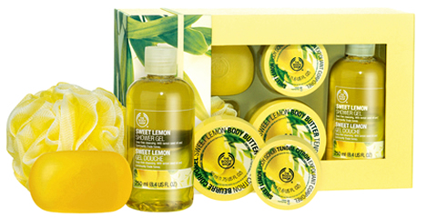 bodyshop sweet lemon 01 Kolekcia Sweet Lemon v The Bodyshope: Naozaj sladká a citrónová