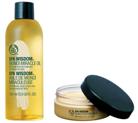 bodyshop The Bodyshop: Miracle Monoi Oil a Monoi Moisture Balm