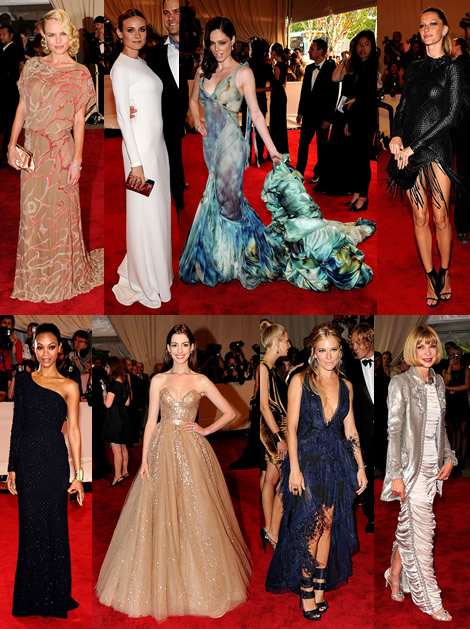 met cig 2010 Met Costume Institute Gala 2010: 35 celebrt a ich vberov aty