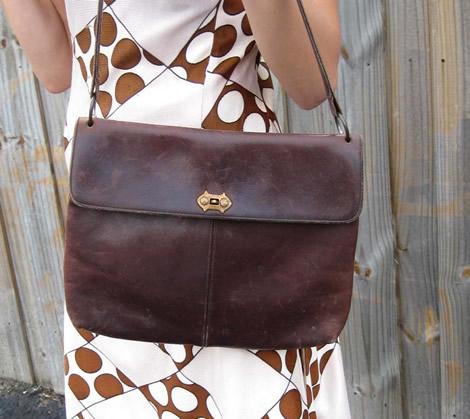 Hnedá kožená vintage kabelka | Stajl.sk – móda, štýl ...