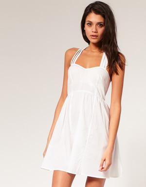 male biele saty Tip na leto: Ako nosiť malé biele šaty