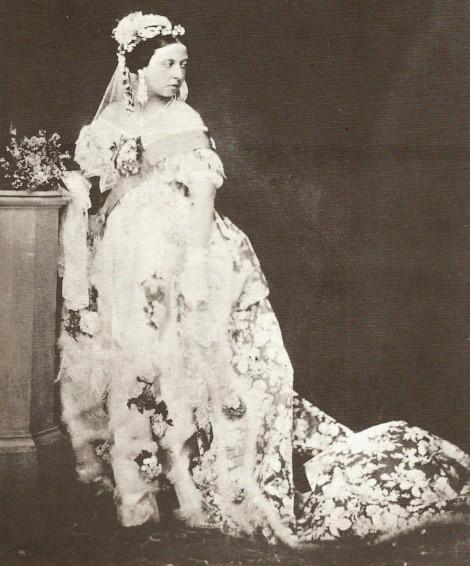 queen victoria 02 470x566 Príbeh svadobných šiat, 1. časť: Kráľovná Viktória a jej biela revolúcia