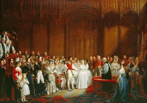 queen victoria 03 470x328 Príbeh svadobných šiat, 1. časť: Kráľovná Viktória a jej biela revolúcia