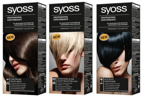 syoss 470x325 Vlasové novinky z drogérie: Farby na vlasy, tužidlá a výživné spreje
