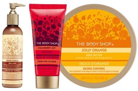 body shop vianoce 470x310 Novinky v The Body Shope a LOccitane: Vianočná kozmetika a nový mejkap