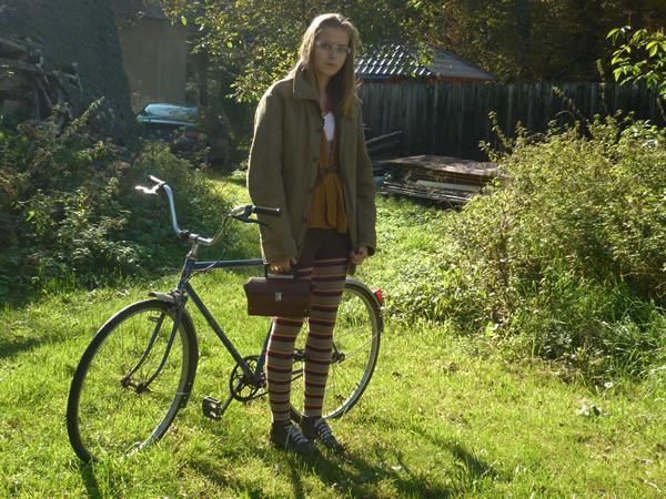 bicykel Style In Small Town: Štýl v malom meste očami krasokorčuliarky