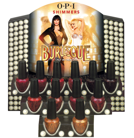 opi burlesque shimmers O·P·I Burlesque pre riadnu dávku lesku