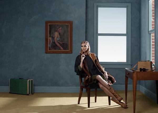 anja rubik fendi Diela Edwarda Hoppera inšpiráciou pre Fendi