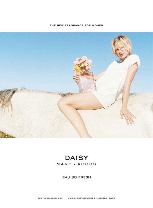 daisy Hannah Holman pre Daisy Eau So Fresh od Marc Jacobs