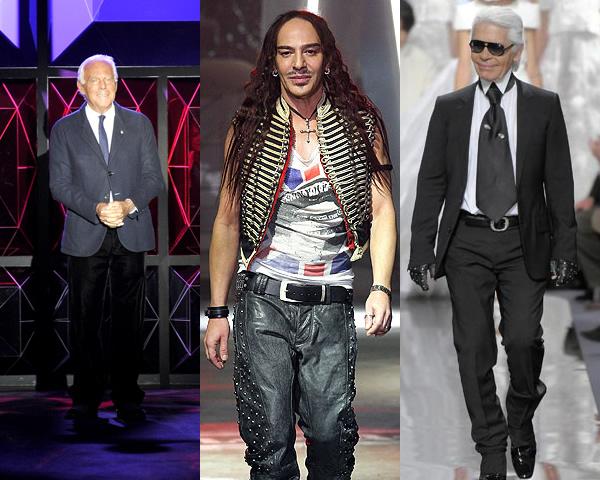 finaldesigners Haute Couture Spring 2011: Armani cestou sci fi a Gaultierov muž v svadobných šatách