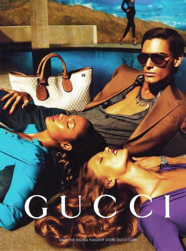 gucci1 Kampane tejto sezóny, 2. časť: Gucci, Bottega Veneta, Christian Dior, Givenchy