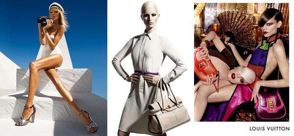 kampane 01 Kampane tejto sezóny, 1. časť: Giuseppe Zanotti, Max Mara, Louis Vuitton, Chanel