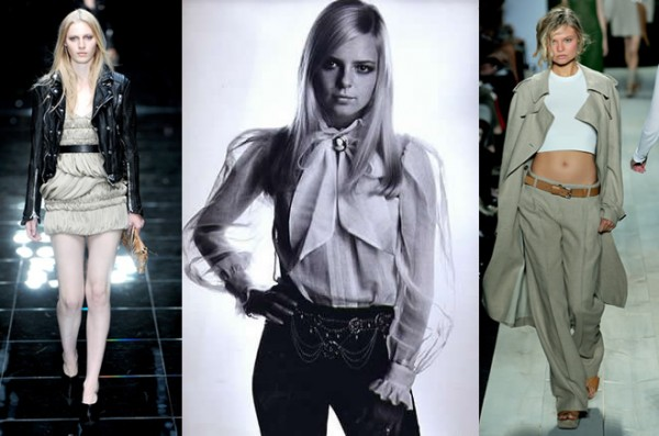 trendy jar leto 2011 600x397 Trendy na sezónu jar/leto 2011: Moderné 60. a 70. roky, krátke topy a návrat capri nohavíc