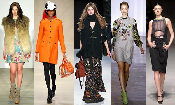 rtw jesen zima 2011 lfw Móda na jeseň/zimu 2011 z London Fashion Week: Geometria, anglický základ a výrazné kabáty