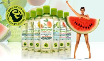 EarthLovers1 Earth Lovers, maximálne zelené sprchové gély z The Body Shopu