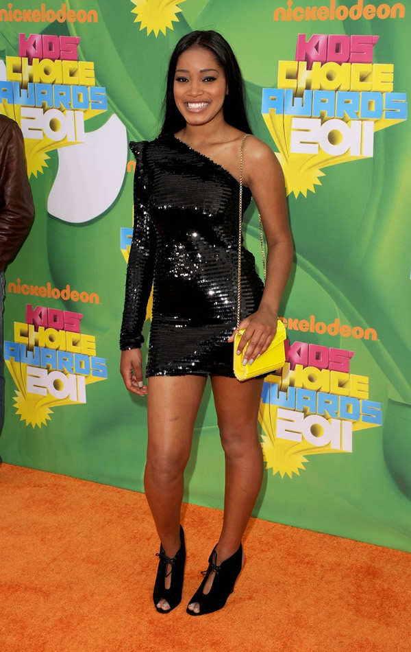 keke palmer kca 2011 01 Kids Choice Awards 2011: Zlaté deti Los Angeles