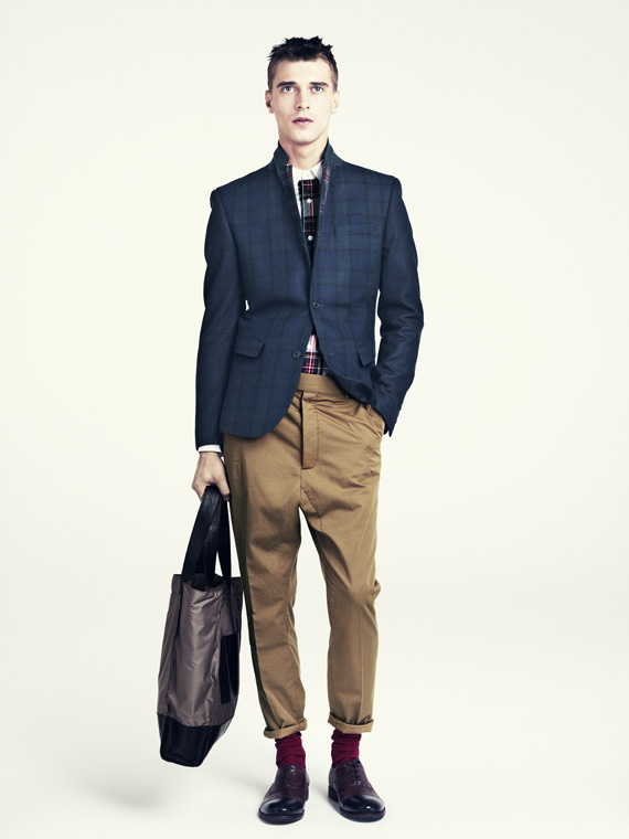 hm fall 2011 men 01 H&M predstavuje jesenný lookbook Dark Autumn