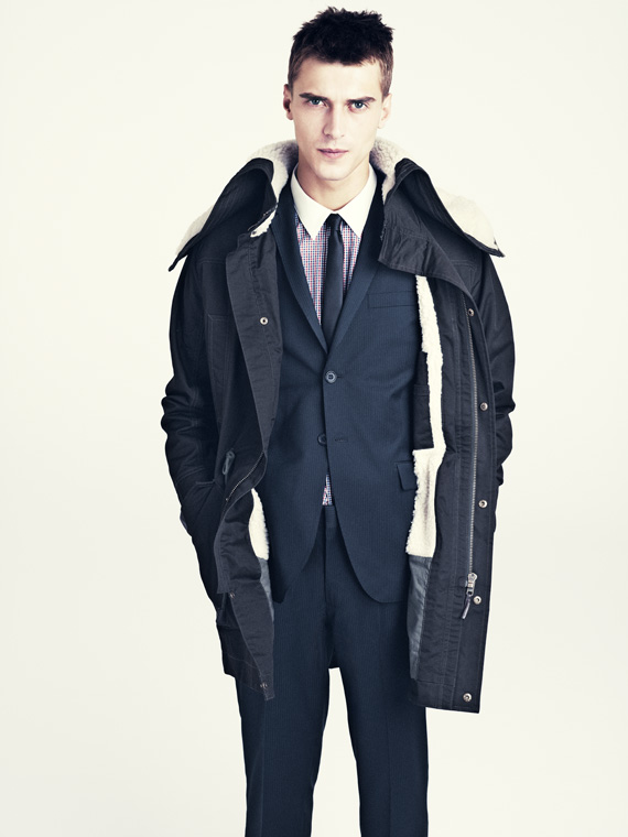 hm fall 2011 men 02 H&M predstavuje jesenný lookbook Dark Autumn