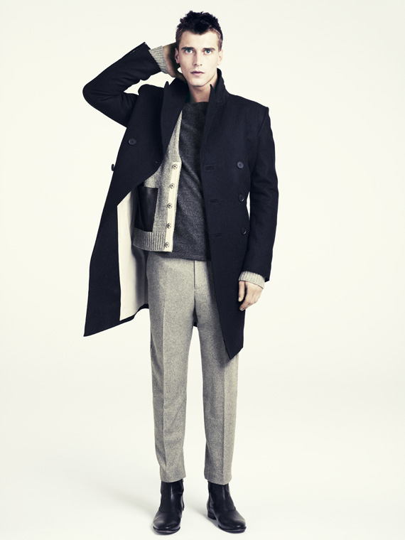 hm fall 2011 men 03 H&M predstavuje jesenný lookbook Dark Autumn