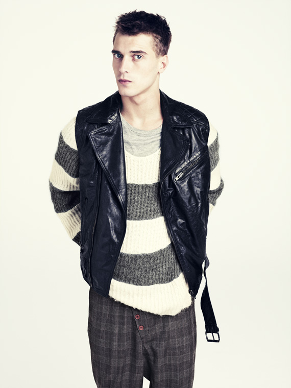 hm fall 2011 men 04 H&M predstavuje jesenný lookbook Dark Autumn